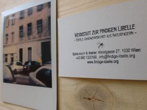 Foto Kleistgasse mit Stempeldruck